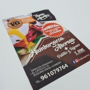 flyer para restaurant