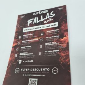 pancartas para falleros