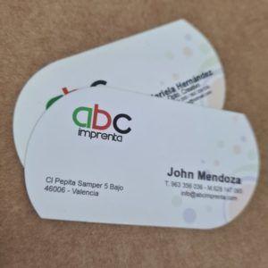 tarjetas de visitas diferentes para negocio