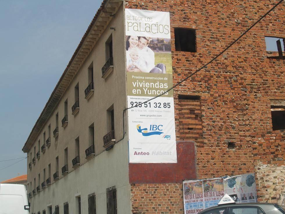 publicidad para inmobiliaria en lona