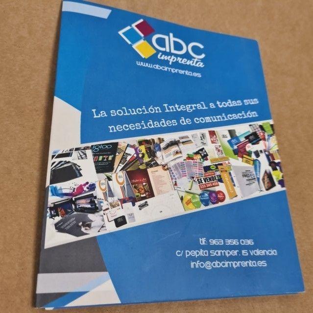catálogos recicladas