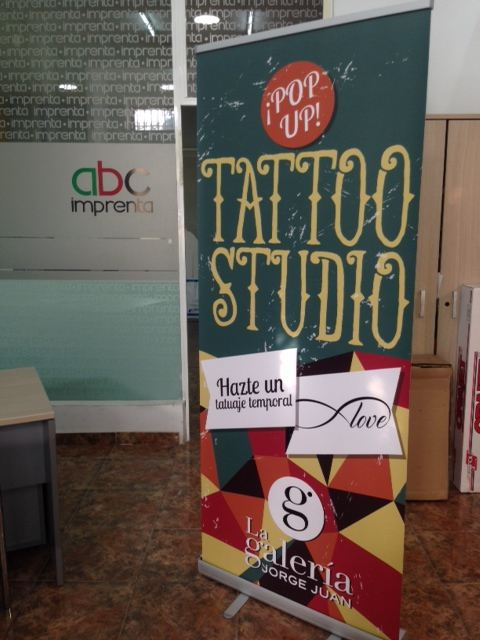 Rollup para tatto studio